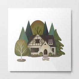 Hawthorne House Metal Print