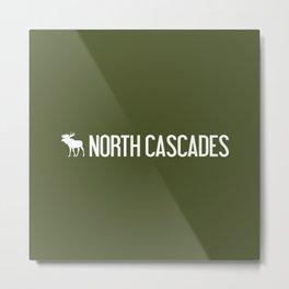Moose: North Cascades, Washington Metal Print