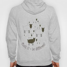 Flock It - Be Different Hoody