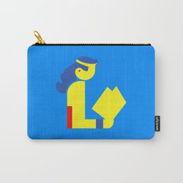Wonder Lady Reading Carry-All Pouch