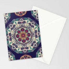 Colorful Mandala Pattern 007 Stationery Cards