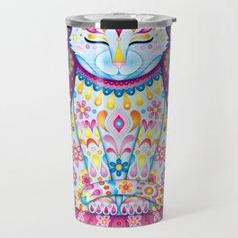Zen Cat Travel Mug
