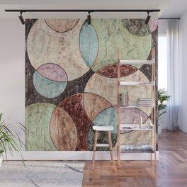 Neutral Circles Wall Mural