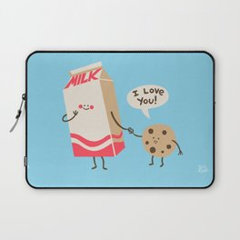 Cookie Loves Milk Laptop Sleeve