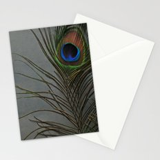 Peacock Morning Stationery Cards