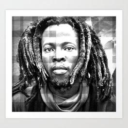 Rasta Man 3 Art Print