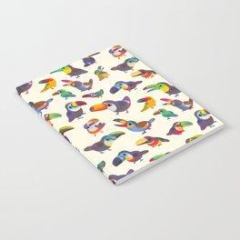 Toucan - pastel Notebook