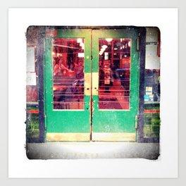 Central Saloon Doors, Pioneer Square - Seattle WA Art Print