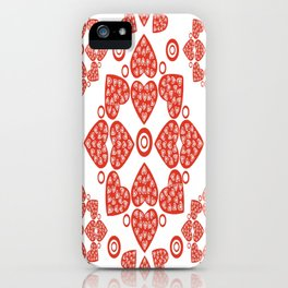 Hearts Alive iPhone Case