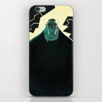 frankenstein iPhone & iPod Skins featuring Frankenstein by Annalisa Leoni