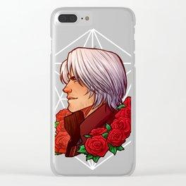 Dante | Red Rose | DMC5 Clear iPhone Case