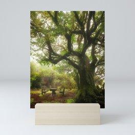 By the Ancient Tree Mini Art Print