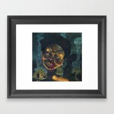Burn It Down Framed Art Print
