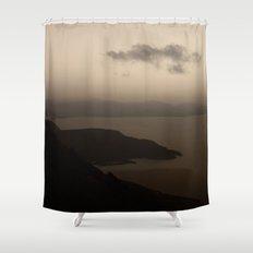 Evening mood Shower Curtain