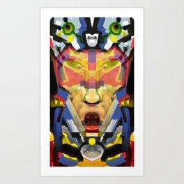 Blue Team Squadron Leader Art Print
