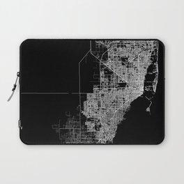 Miami map Laptop Sleeve