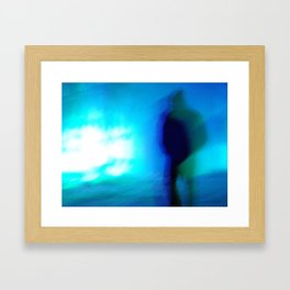Ice Walker Framed Art Print