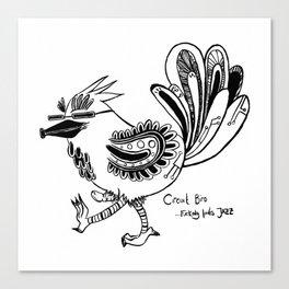 Circuit Bird Canvas Print