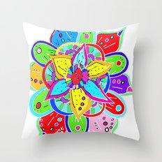 Mandala II Throw Pillow