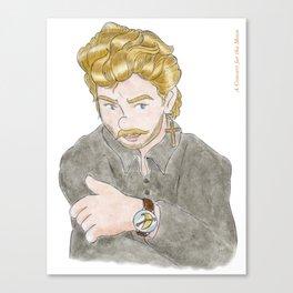 Ah George! Canvas Print
