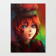 Bell Mushroom Canvas Print