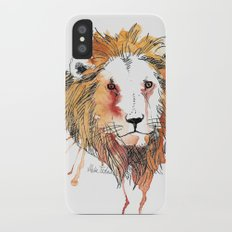 Lion Slim Case iPhone X