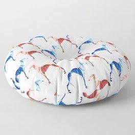 Whippet Floor Pillow