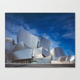 Concert Hall  | Frank Gehry | architect Canvas Print