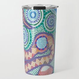 Rainbow Serpent Travel Mug