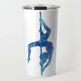 Pole dancer underwater Travel Mug
