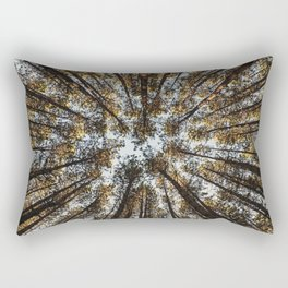 Pines Above Rectangular Pillow