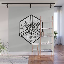 Birthplace of Aviation - Neutral Wall Mural