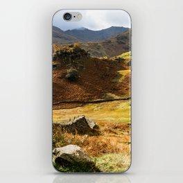Castle Howe landscape iPhone Skin
