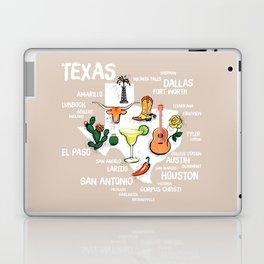 Classic Texas Icons Laptop & iPad Skin