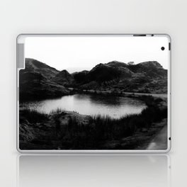Fairy Glen, Isle of Skye, B/W Laptop & iPad Skin