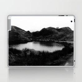 Fairy Glen, Isle of Skye, B/W Laptop & iPad Skin