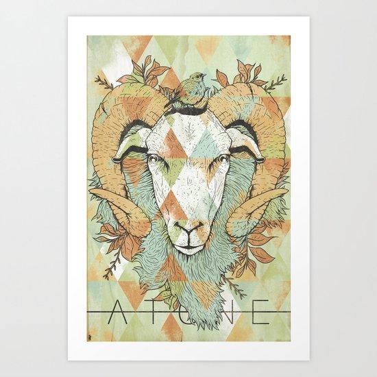 Offering Art Print