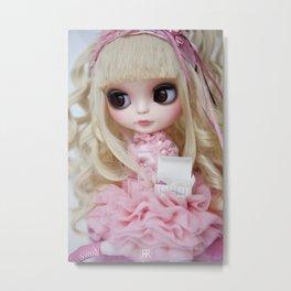 Erregiro Blythe Custom Doll Japanese Lolita Girl Kumiko Metal Print