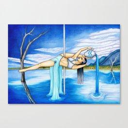 Pole Stars - AQUARIUS Canvas Print