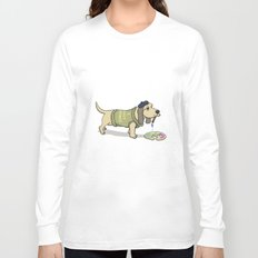 A Painting Dog Long Sleeve T-shirt