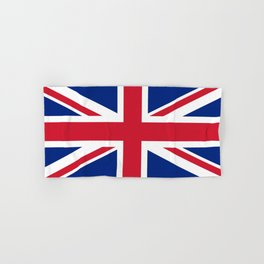 UK FLAG - The Union Jack Authentic color and 3:5 scale  Hand & Bath Towel