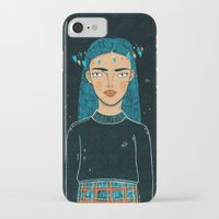 hologram iPhone & iPod Cases featuring In A Hologram With You by a thousand daisies