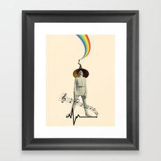 music for life Framed Art Print