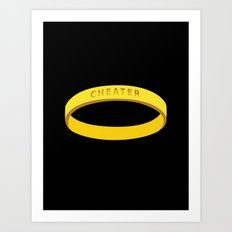 Cheater Art Print