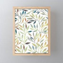 Leaves 5 Framed Mini Art Print