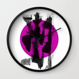 Japan touch Wall Clock
