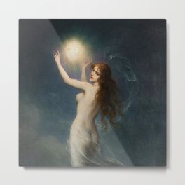 "Karl Schweninger ""The Morning Star"" Metal Print"
