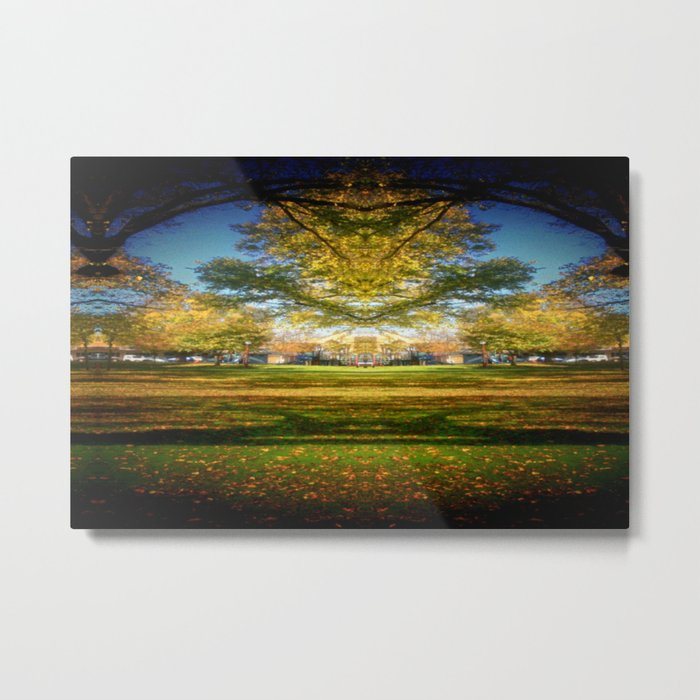 Autumn Down-Under Metal Print