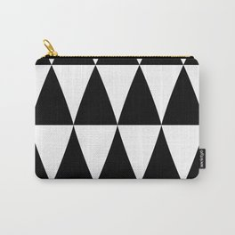 Triangle waves and swirls Carry-All Pouch
