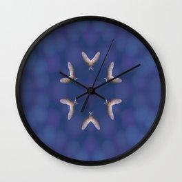 Double Winged Fantasy Wall Clock